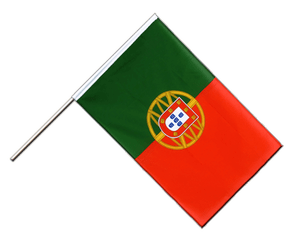 Portugal Hand Waving Flag ECO 2x3 ft