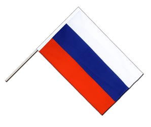 Russia Hand Waving Flag ECO 2x3 ft