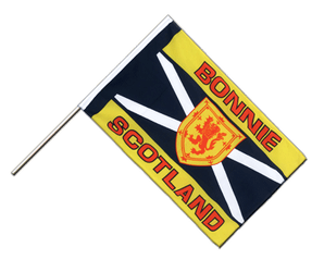 Scotland Bonnie Scotland - Hand Waving Flag ECO 2x3 ft