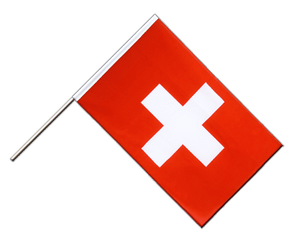 Switzerland Hand Waving Flag ECO 2x3 ft