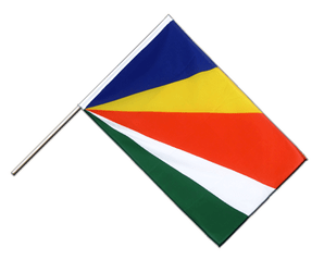 Seychelles Hand Waving Flag ECO 2x3 ft