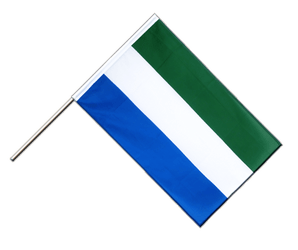 Sierra Leone - Hand Waving Flag ECO 2x3 ft