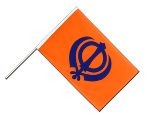 Sikhism Hand Waving Flag ECO 2x3 ft
