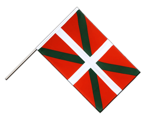 Basque country Hand Waving Flag ECO 2x3 ft