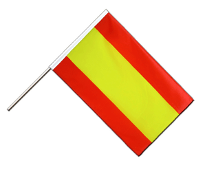 Spain without crest Hand Waving Flag ECO 2x3 ft