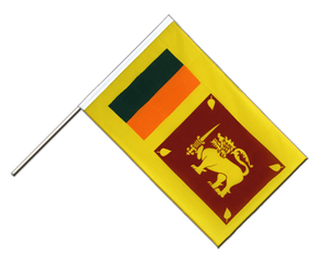 Sri Lanka - Hand Waving Flag ECO 2x3 ft