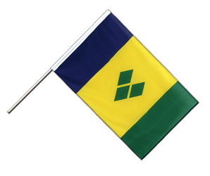 Drapeau Saint Vincent et les Grenadines Hampe ECO 60 x 90 cm