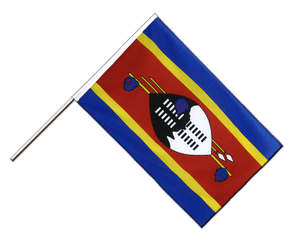 Swaziland Hand Waving Flag ECO 2x3 ft