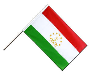 Tajikistan - Hand Waving Flag ECO 2x3 ft
