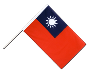 Taiwan - Hand Waving Flag ECO 2x3 ft