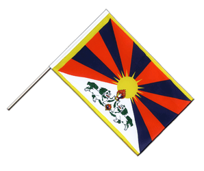 Tibet Hand Waving Flag ECO 2x3 ft