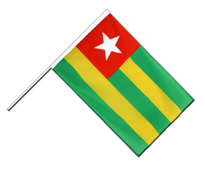 Togo Hand Waving Flag ECO 2x3 ft
