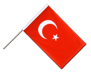 Turkey - Hand Waving Flag ECO 2x3 ft