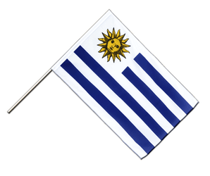 Uruguay Hand Waving Flag ECO 2x3 ft