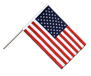 USA Hand Waving Flag ECO 2x3 ft