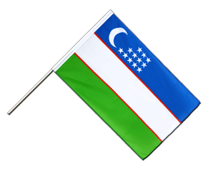 Uzbekistan - Hand Waving Flag ECO 2x3 ft