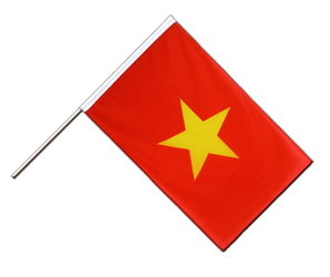 Vietnam - Hand Waving Flag ECO 2x3 ft