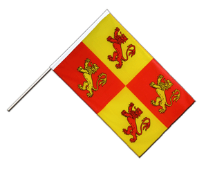 Wales Royal Owain Glyndwr - Hand Waving Flag ECO 2x3 ft