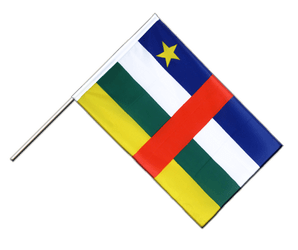 Central African Republic Hand Waving Flag ECO 2x3 ft