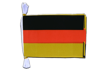 "Germany Flag Bunting 6x9"", 3 m"