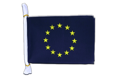 "European Union EU Flag Bunting 6x9"", 3 m"