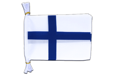 "Finland Flag Bunting 6x9"", 3 m"