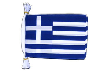 "Greece Mini Flag Bunting 6x9"", 3 m"