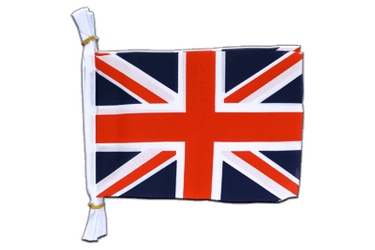 "Great Britain Mini Flag Bunting 6x9"", 3 m"