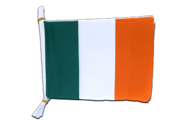 "Ireland - Mini Flag Bunting 6x9"", 3 m"