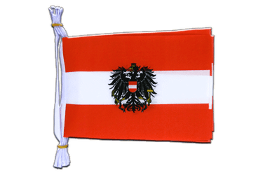 "Austria eagle Mini Flag Bunting 6x9"", 3 m"