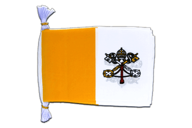 "Vatican Flag Bunting 6x9"", 3 m"