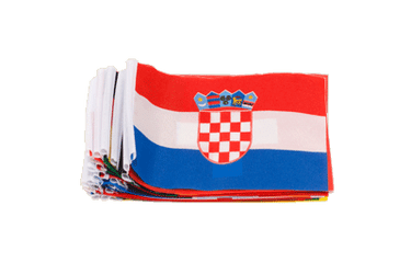 Euro Soccer 2016 - Mini Flag Pack 4x6""