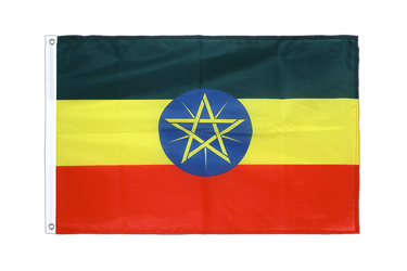 Ethiopia with star Grommet Flag PRO 2x3 ft