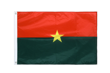 Burkina Faso Grommet Flag PRO 2x3 ft