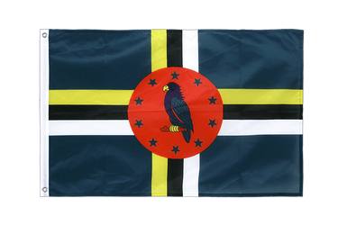 Dominica Grommet Flag PRO 2x3 ft