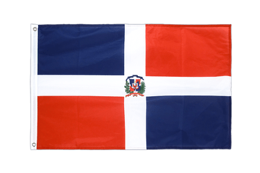 Dominican Republic Grommet Flag PRO 2x3 ft