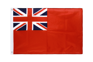 Pavillon Royaume-Uni Britannique pavillon marchand Red Ensign Oeillets PRO - 60 x 90 cm