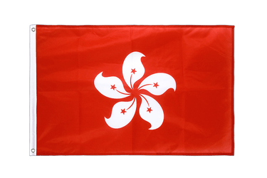 Hong Kong Grommet Flag PRO 2x3 ft