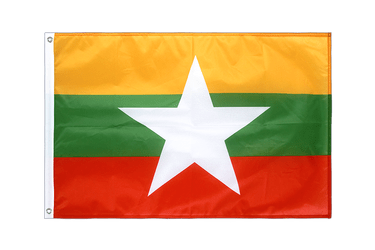 Myanmar new Grommet Flag PRO 2x3 ft