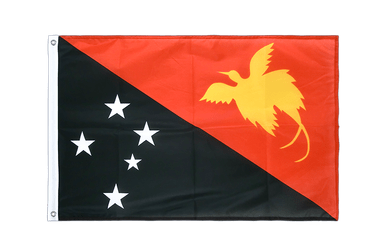 Papua New Guinea Grommet Flag PRO 2x3 ft