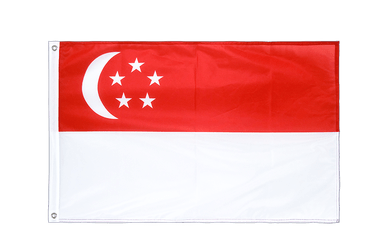 Singapore Grommet Flag PRO 2x3 ft