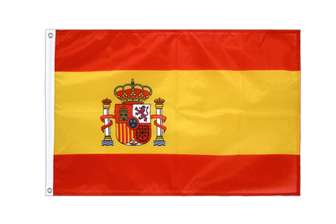 Spain with crest - Grommet Flag PRO 2x3 ft