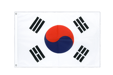 South Korea Grommet Flag PRO 2x3 ft