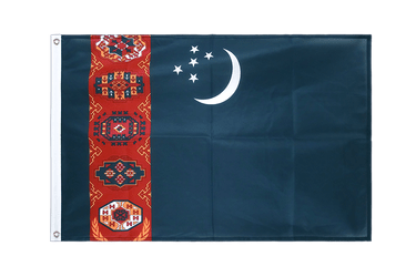 Turkmenistan Grommet Flag PRO 2x3 ft
