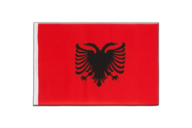 Albania Little Flag 6x9""