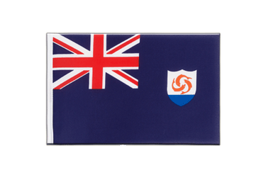Anguilla - Little Flag 6x9""