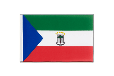 Equatorial Guinea - Little Flag 6x9""