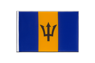 Barbados Little Flag 6x9""
