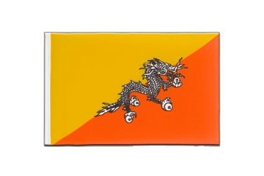 Bhutan - Little Flag 6x9""