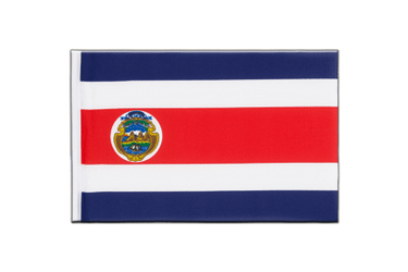 Costa Rica Little Flag 6x9""